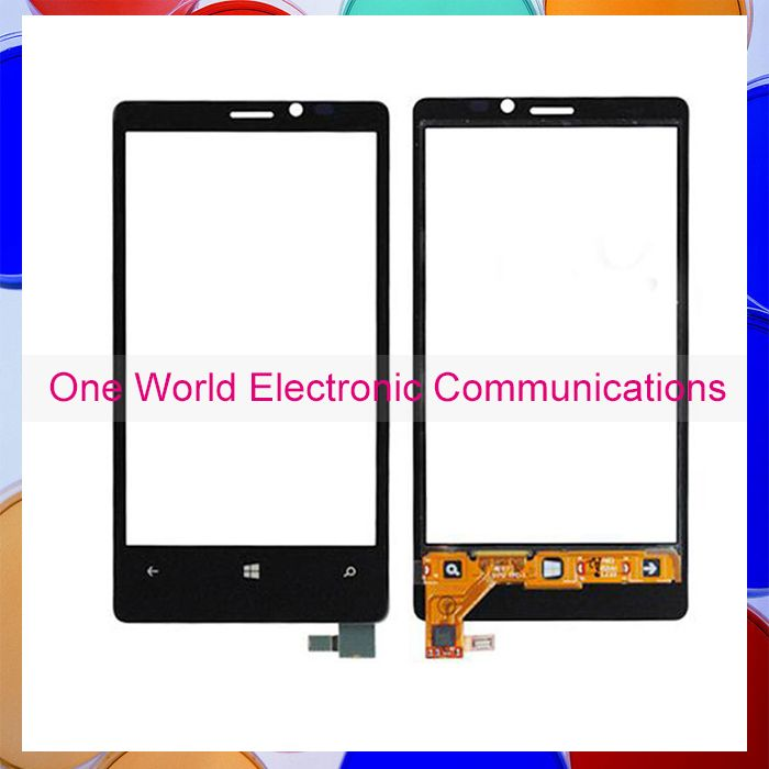 """Black 4.5"""" Phone For Nokia Lumia 920 N920 Touch Screen Touch Panel Digitizer Sensor Front Glass Lens Tracking Code Free Shipping"""
