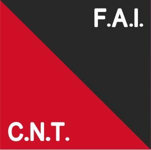 Image illustrative de l'article Fédération anarchiste ibériquehttp://fr.wikipedia.org/wiki/F%C3%A9d%C3%A9ration_anarchiste_ib%C3%A9rique#mediaviewer/File:Flag_colors_of_CNT-FAI_-Template.svg