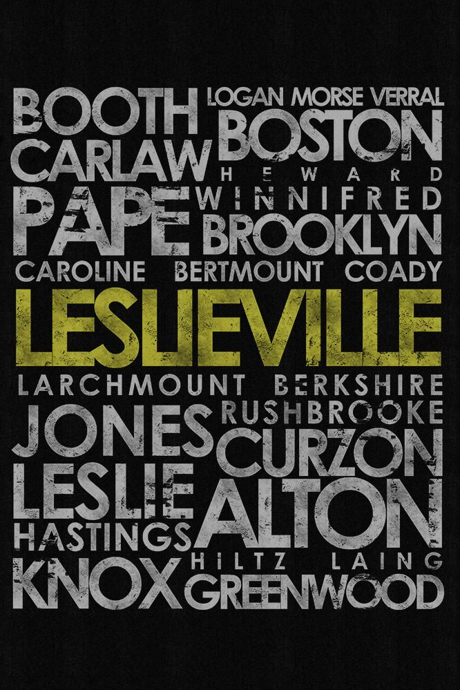 Leslieville poster, cheap art repping the east end!