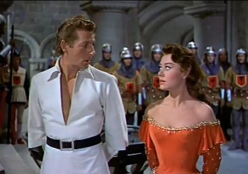 Danny Kaye & Glynis Johns in The Court Jester