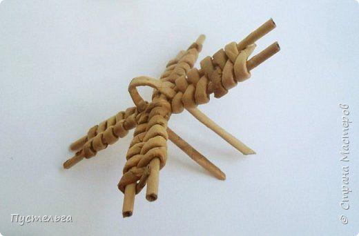 Мастер-класс Поделка изделие Плетение Домик и мельница Трубочки бумажные фото 19