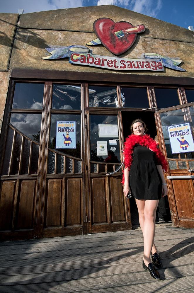 Stand BlaBlaCar au Cabaret Sauvage, pour le festival Alter Eco 2012