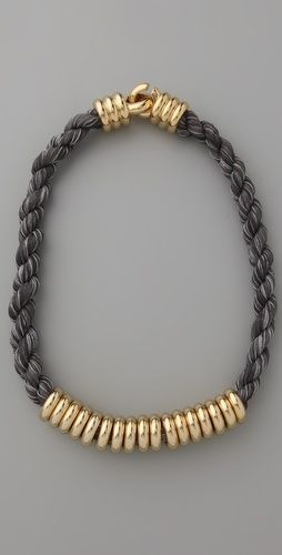 Millegrain Rope Necklace