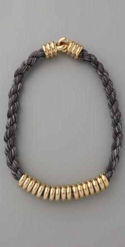 Millegrain Rope Necklace