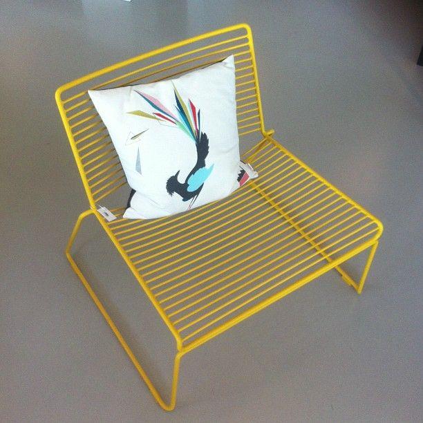 Gullfuglen cushion Bostil @bostilorstadveien200   # funkle