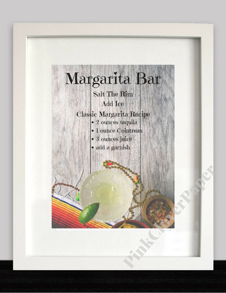Margarita Bar Sign, Fiesta Nacho Bar Party Signage (8x10) by PinkCloverPaper on Etsy https://www.etsy.com/listing/519146464/margarita-bar-sign-fiesta-nacho-bar