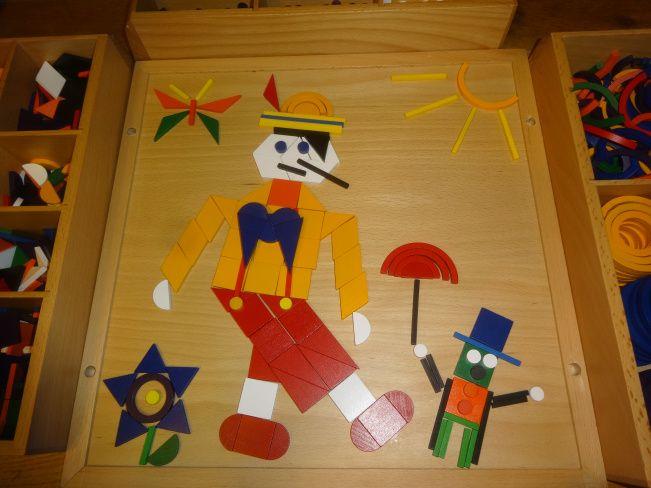 Pinocchio avec Spielgaben