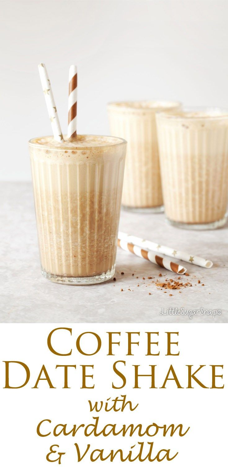 The Coffee Date Shake is a sweet, creamy and luxurious shake without the unhealthy attributes of a regular milkshake. Amazingly tasty. Remarkably healthy. Hard to resist.
