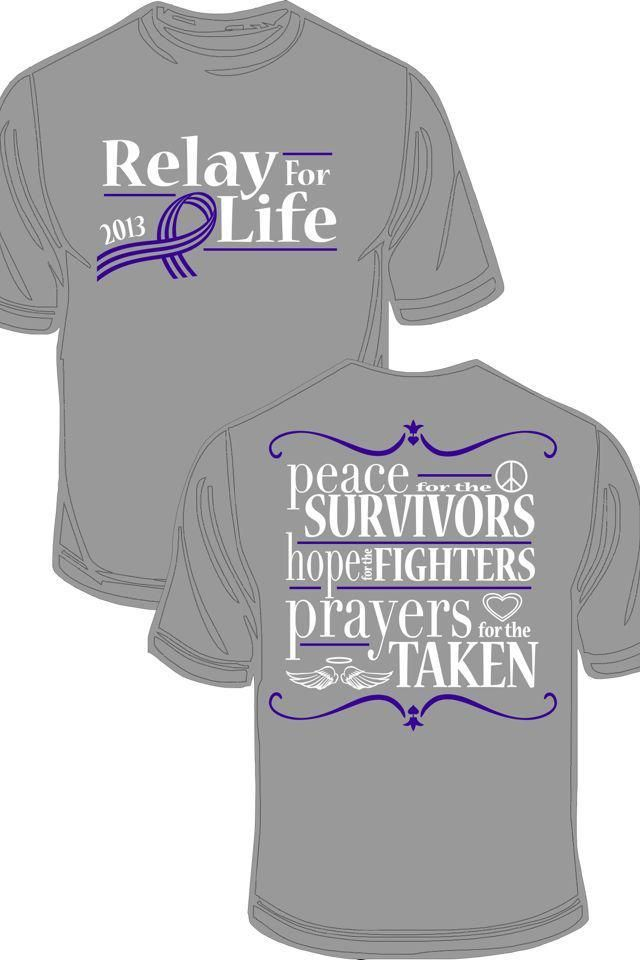 Relay for life 2013 t shirt designs