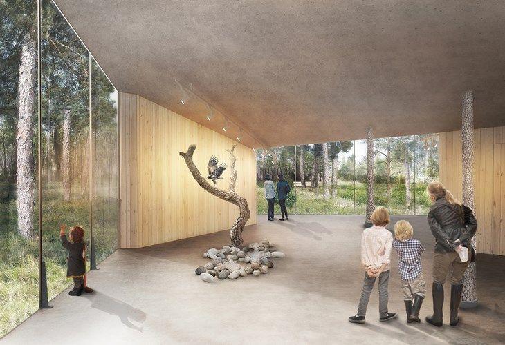 Naturrum Trollskogen | Marge Arkitekter