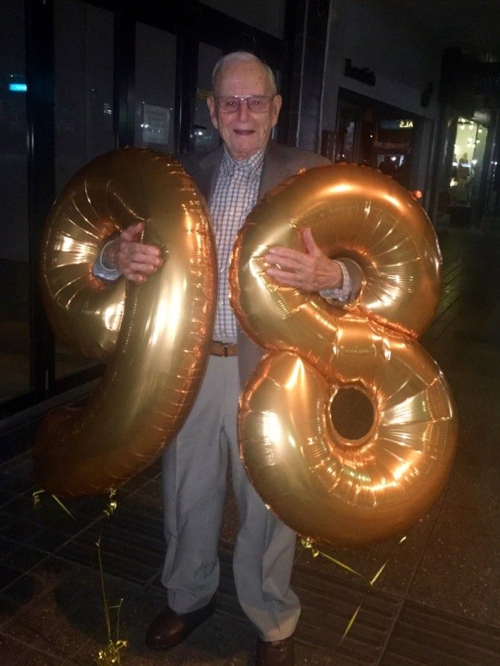 happy 98th birthday