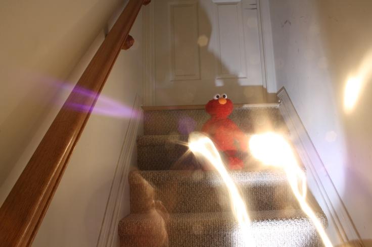 Elmo the wizard.