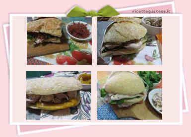 Ricette gustose panini , panini farciti , panini ripieni e sfiziosi - mobile