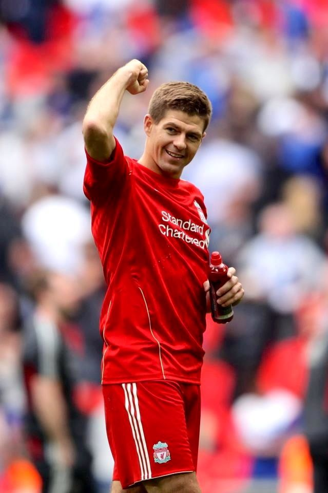 Steven Gerrard Photos: Liverpool v Everton - FA Cup Semi Final