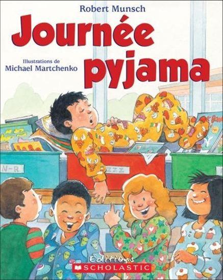 C'est la journée pyjama à l'école et le dernier pyjamad'Andrew est tout troué. Andrew et son papa vont doncmagasiner et trouvent le pyjama parfait. Le lendemain,Andrew enfile son pyjama parfait et s'endort immédiatement.Il dort pendant la récréation et le dîner; il dort aussi toutl'après-midi! Le directeur n'arrive pas à croire qu'Andrewa dormi toute la journée jusqu'à ce qu'il porte lui-même lepyjama parfait d'Andrew...