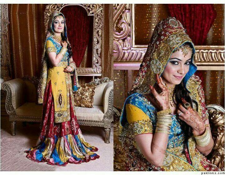 Mehndi Clothes For Brides : 270 best dulhan and dulha images on pinterest indian bridal