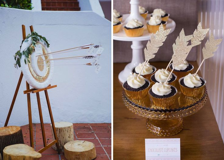 Hunger Games can be a fun themed wedding. Use the natural beauty of an outdoor setting to guide your decor.