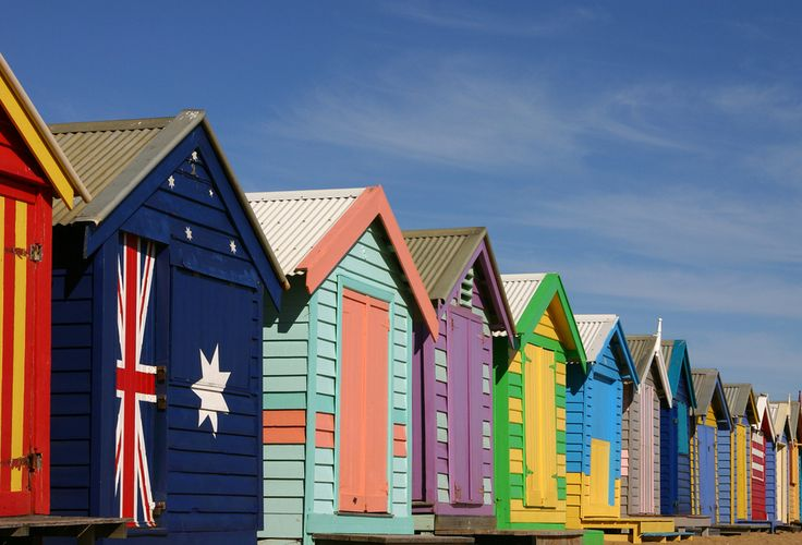 Brighton Beach, em Melbourne, Austrália | The 24 Most Colorful Cities In The World