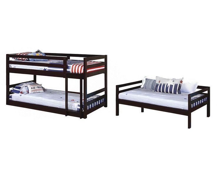 Twin Triple Bunk Bed #400302 COA