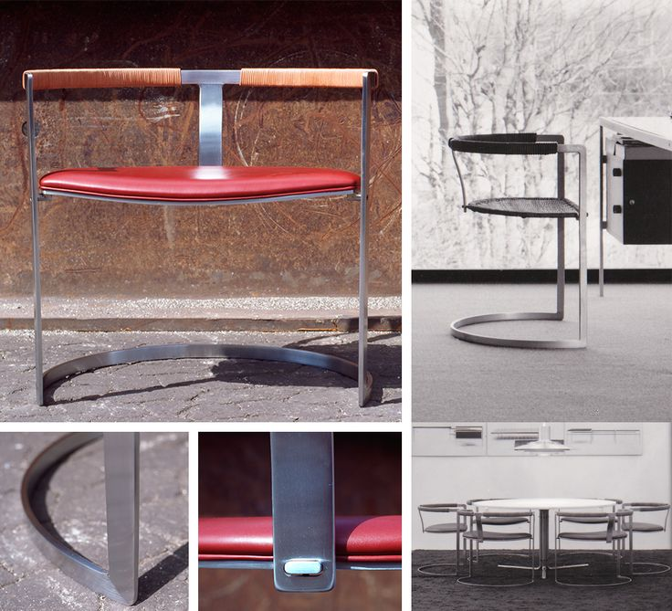 Sculpture chair designed by Preben Fabricius and Jørgen Kastholm. For further information, please contact bo-ex furniture: bo-ex@bo-ex.dk