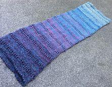 'Trees' is een breipatroon voor een col/sjaal.