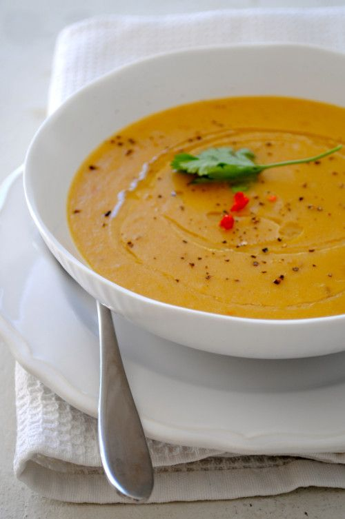 Spicy Split Pea Soup: Sarah Graham
