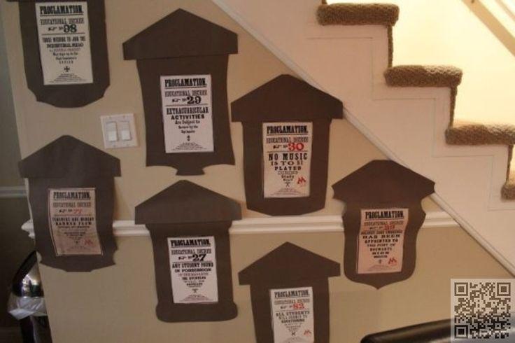 52. #décrets d'éducation - 60 idées pour une #soirée à thème #Harry Potter... → DIY