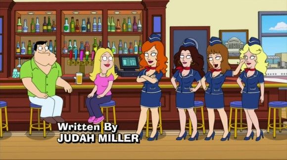 american dad naughty stewardess | American Dad! Season 9 Episode 12 Introducing the Naughty Stewardesses ...