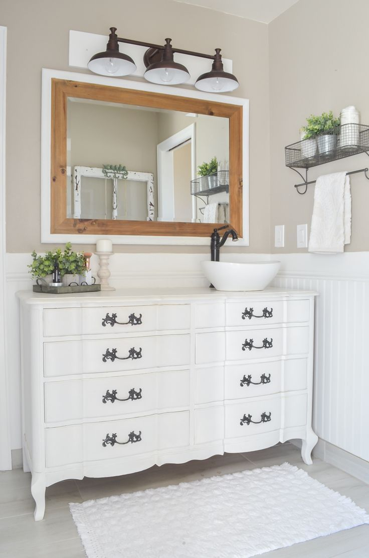 Farmhouse Style Master Bathroom Refresh Ideas