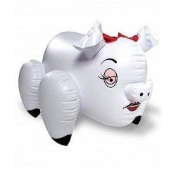 Erotic blow up piggie white Erotic Piggie Blow-Up Sue Eeee! You've just hog tied yer very own Erotic Love Piggie! Any time you are in the mood for a roll in the mud, she'll be your sexy sow. Sometimes you just gotta go Hogging. Great for bachelor parties and that special guy! Inflatable pig with a rear entry. Material PVC. Country of origin China. 140,99 kr