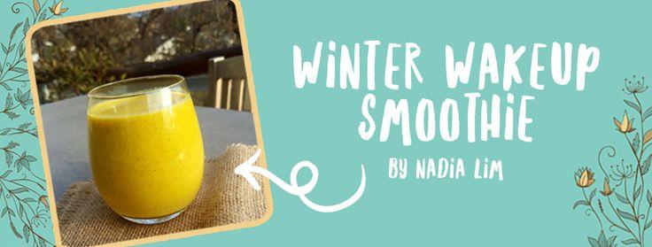 Winter wakeup smoothie