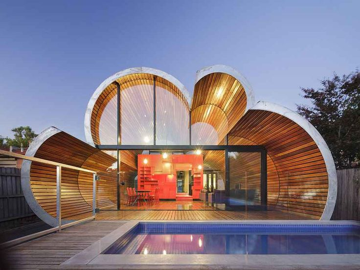 Rounded house omg !