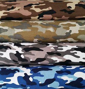 Viscose-jersey-4-couleurs-Camouflage-Militaire-app-150cm-Large