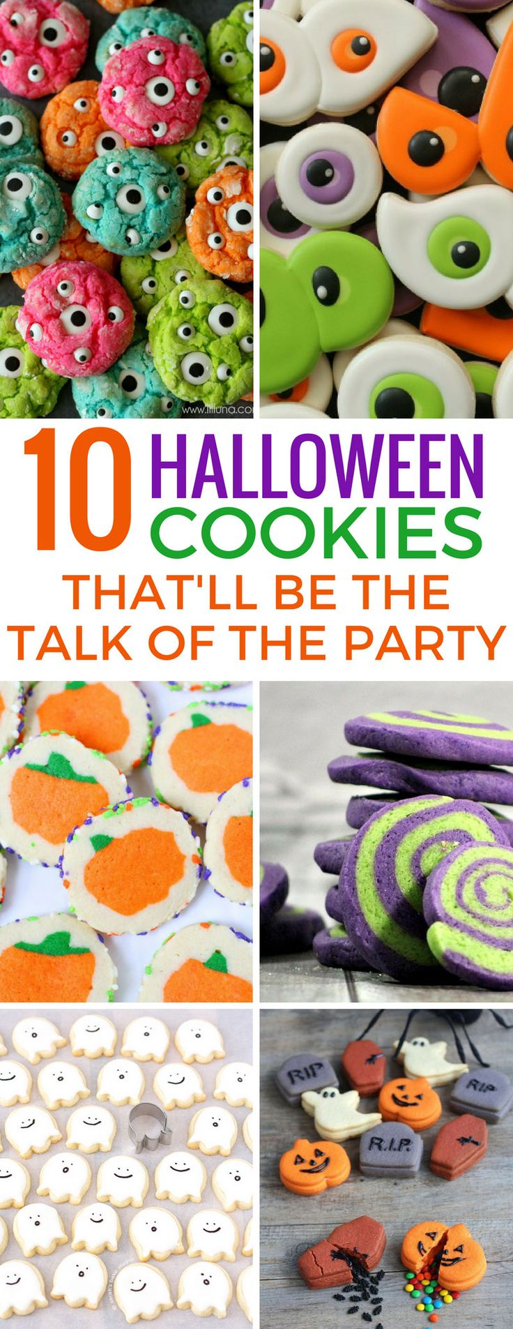 Loving these easy Halloween cookies for kids - especially those ghost cookies! Thanks for sharing!