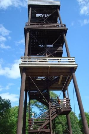 Eagle Tower in Peninsula State Park