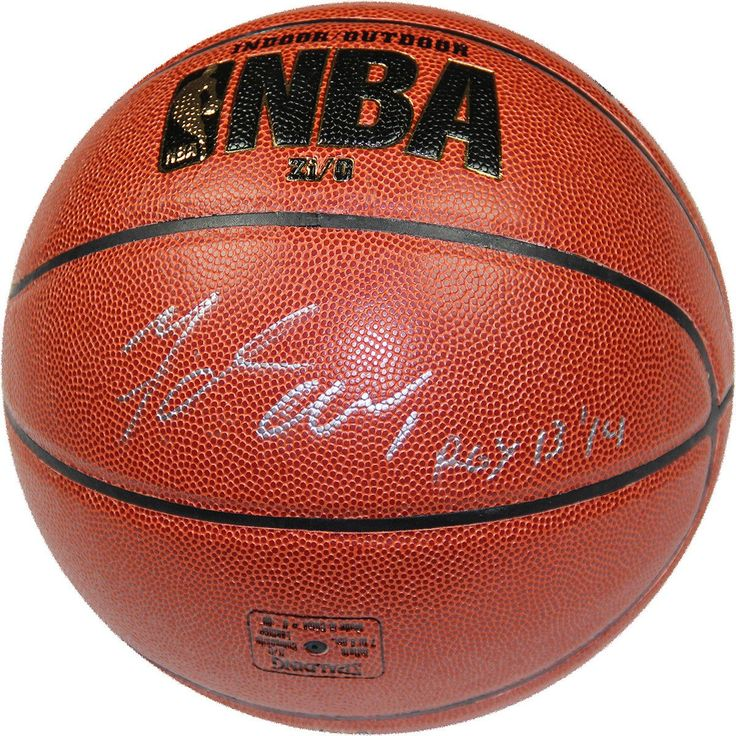 Michael Carter-Williams Signed NBA ZiO Basketball w ROY Inscription - Bucks Star Michael Carter-Williams personally hand-signed this NBA Indoor/Outdoor basketball and inscribed with ROY 13/14. Carter-Williams starred at Syracuse before making an immediate impact in the NBA with the Philadelphia 76ers. In his rookie season Carter-Williams averaged over 16 points per game while leading the 76ers in assists with over six per contest. He was then traded to the Milwaukee Bucks. This young stars…