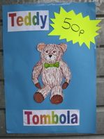 Teddy Tombola - One of the best fundraising ideas for kids.