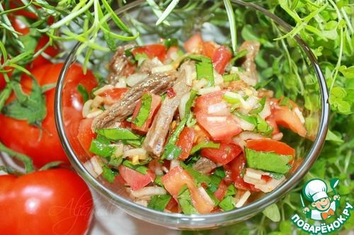"Помидоры ""Ча"" - кулинарный рецепт"