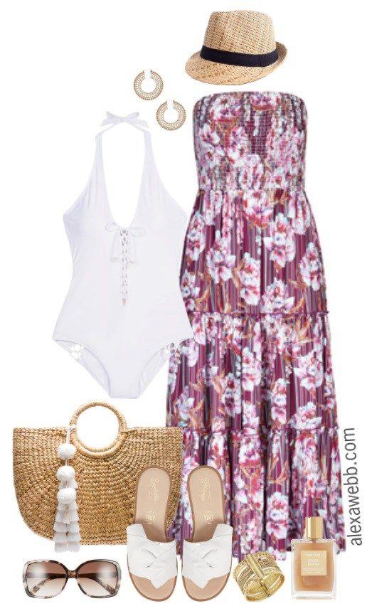 625d1bd35 Plus Size Vacation Outfits - Plus Size Outfit Ideas - Plus Size Fashion for  Women - alexawebb.com #alexawebb