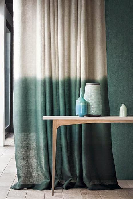 Hoy voy a la búsqueda de la cortina perfecta.
