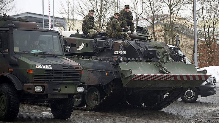 """Germany Deploys Tanks Troops To Lithuania To """"Bolster Confidence In Face Of Russian Aggression"""" Three weeks after the """"largest US military deployment into Eastern Europe since the cold war """" consisting of thousands of tanks and troops under a planned NATO operation to """"reassure the alliances Eastern European allies"""" on Tuesday Germany started the deployment of tanks to Lithuania as part of the same NATO mission meant to """"bolster confidence"""" in the face of what NATO member states call…"""