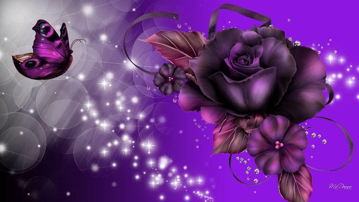 17 Best Ideas About Purple Wallpaper On Pinterest: 17 Best Ideas About Purple Rose Tattoos On Pinterest