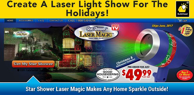 Star Shower Laser Magic is holiday laser projector that can be used outdoors or indoors. Does it work? Here is our Star Shower Laser Magic review.