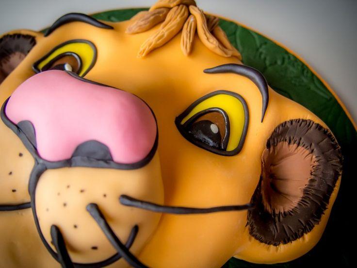 König der Löwen Torte