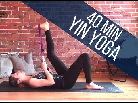 Yin Yoga Full Body Stretch 40 min Class - Flexibility & Relaxation - YouTube