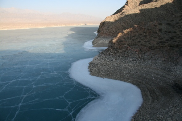 Reservoir elevation of 3014 m - Qinghai Province Haixi Delingha Black ...