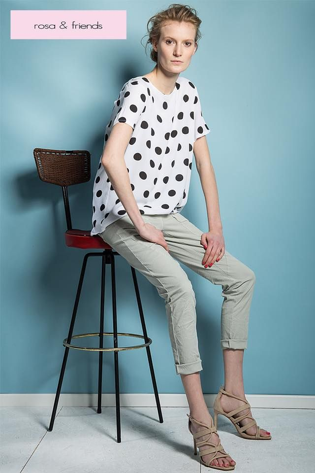Simple yet dressy - our dotted shirt is a must have.