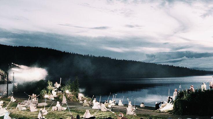 Peer Gynt spelen vid Gålåvatnet 2015, Norway