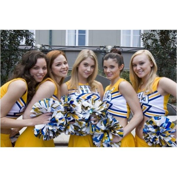 Photos from Fab Five: The Texas Cheerleader Scandal ❤ liked on Polyvore featuring cheerleading and people