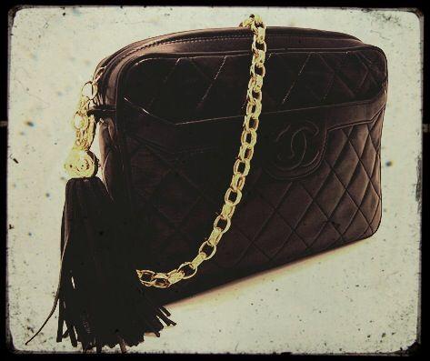 Chanel Tassel Shoulder Bag #CHANEL #シャネル